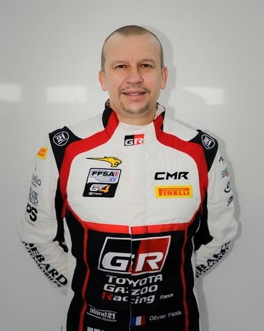 Finale du Championnat de France FFSA GT : Olivier et Aurélien Panis au volant de la Toyota GR Supra GT4 Olivierpanis