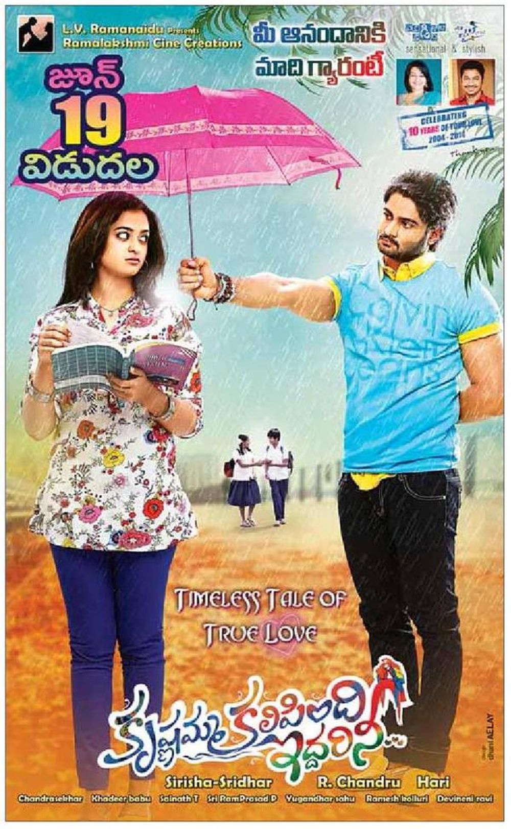 Voltage 420 (Krishnamma Kalipindi Iddarini) 2020 Hindi Dubbed 720p HDRip 750MB | 300MB Download