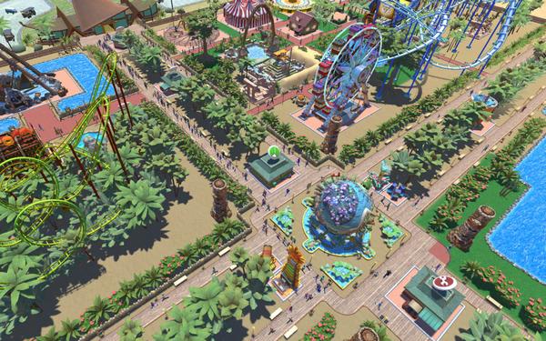 Rollercoaster Tycoon Adventures-HOODLUM « Skidrow & Reloaded