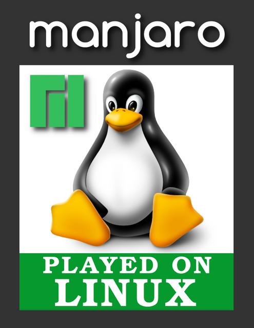 Played-on-Linux-logo-Manjaro-v2