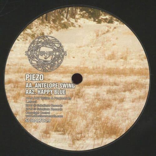 Piezo - Antelope Swing EP
