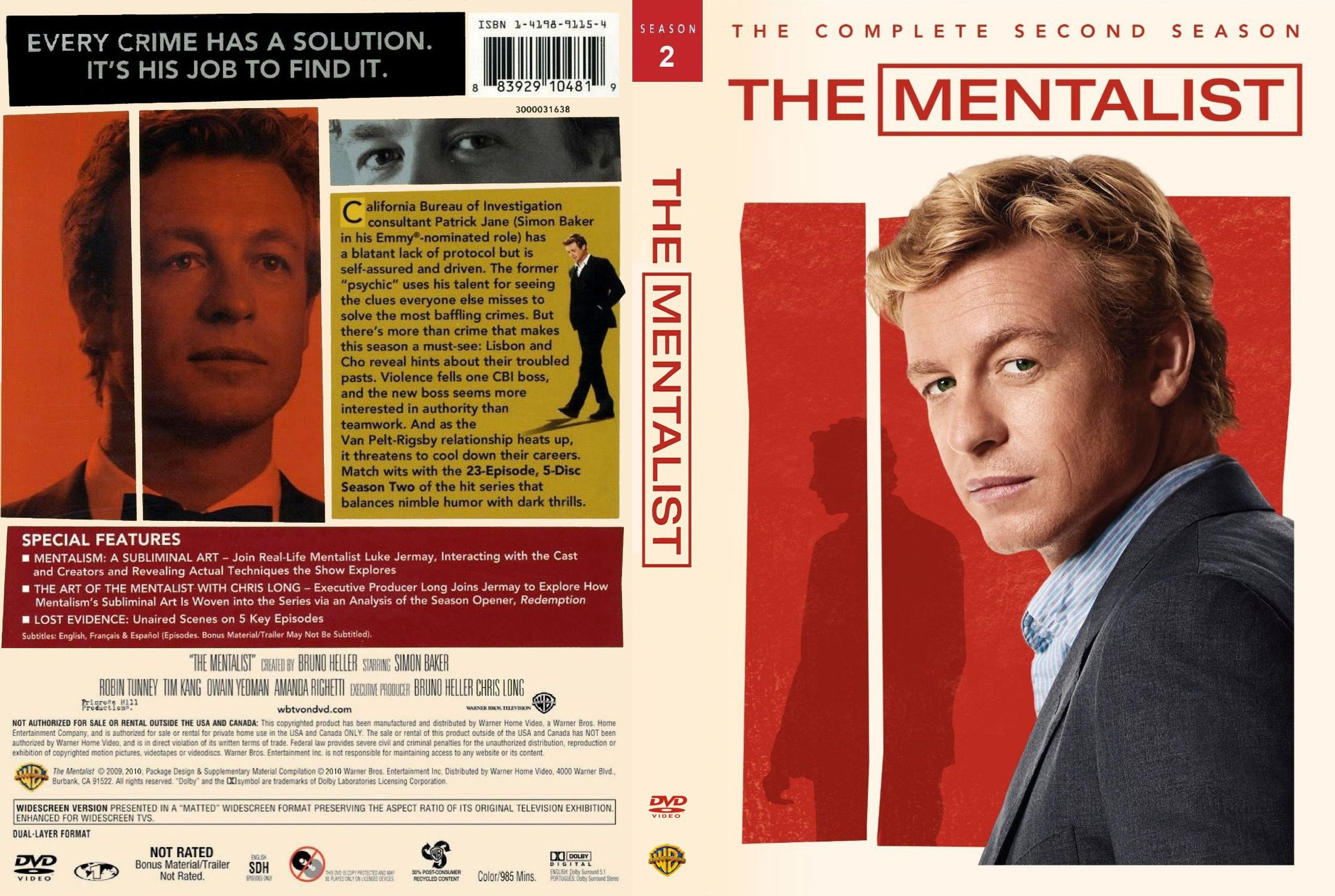 The Mentalist Season 2 1080p x265 10Bits Dual