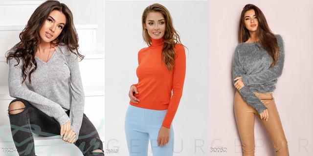 жіночі пуловери та водолазки фото