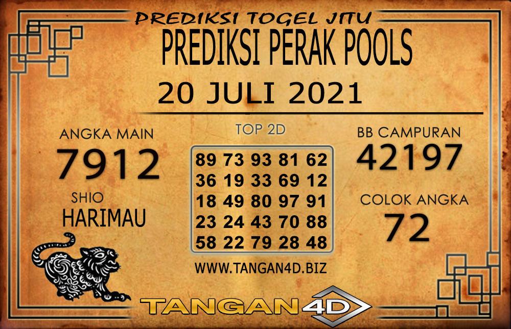 PREDIKSI TOGEL PERAK TANGAN4D 20 JULI 2021