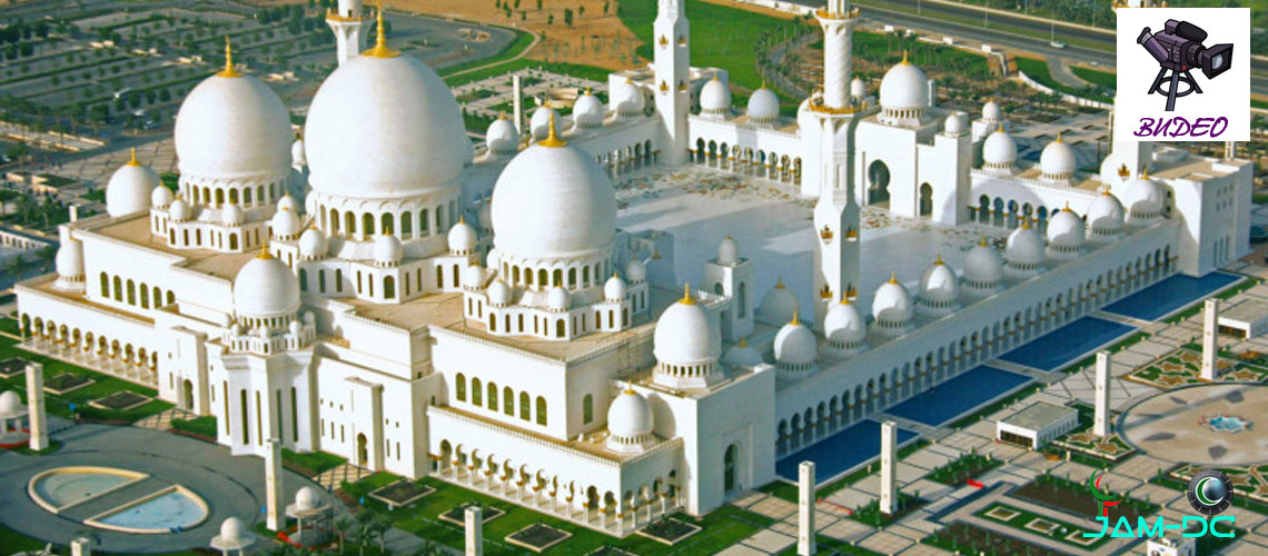 Серхио Рамос в Мечети Шейха Зайида в Абу-Даби
