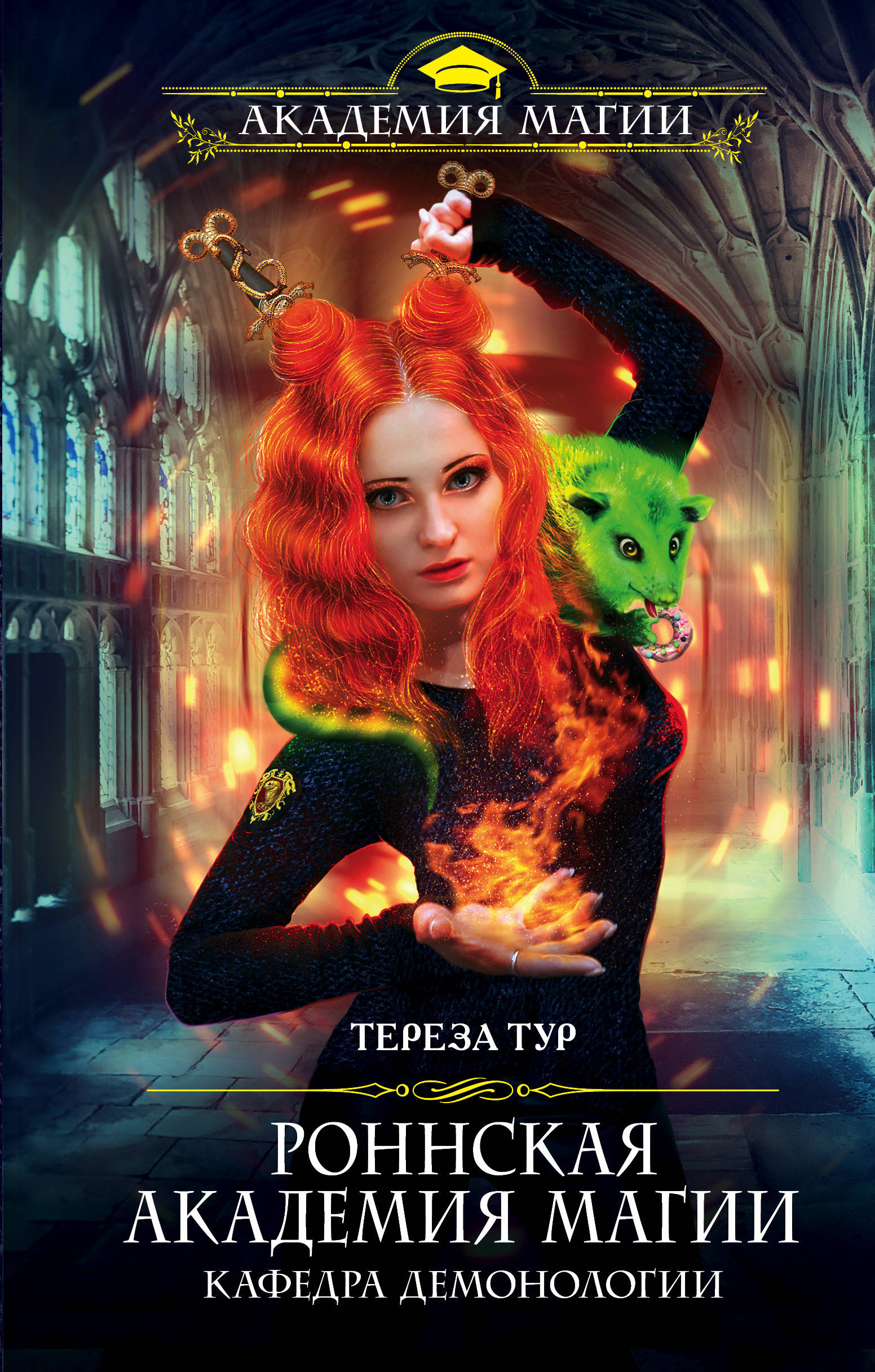 Тереза Тур «Роннская Академия Магии. Кафедра демонологии»