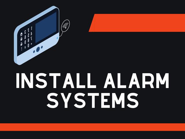 Install-alarm-systems