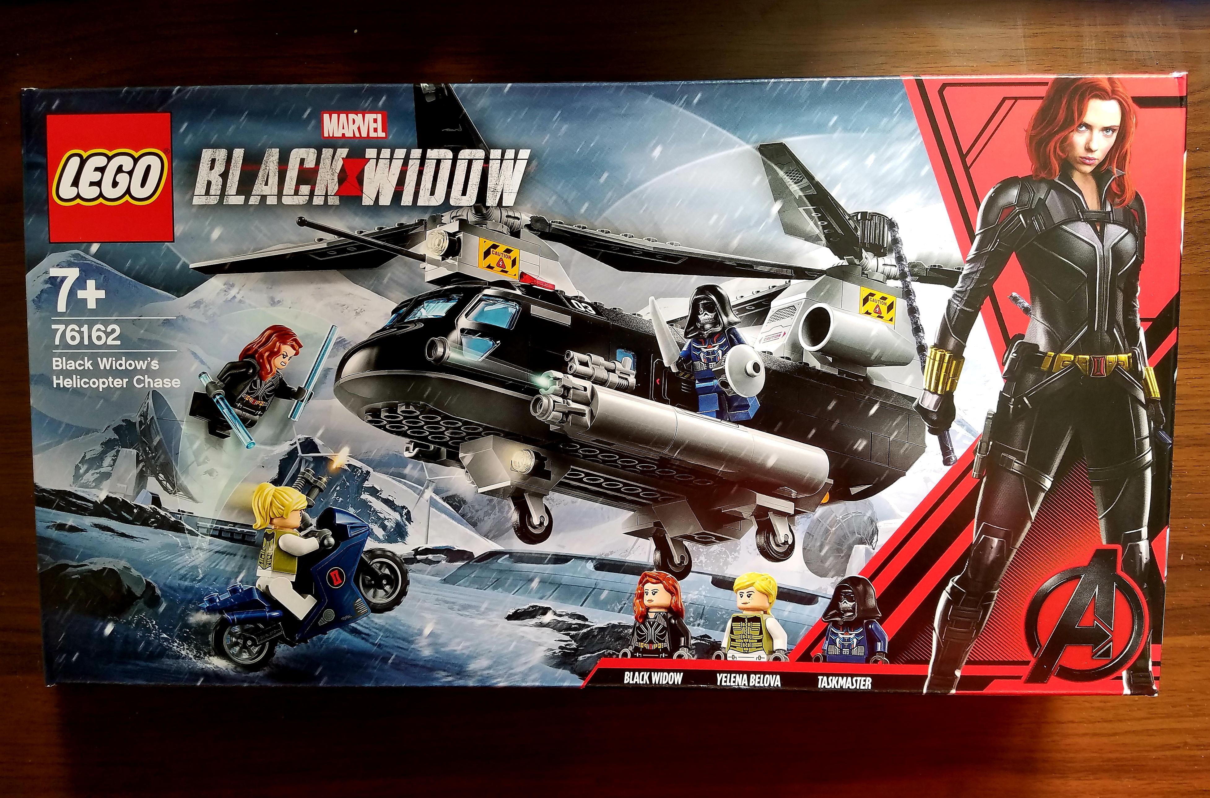 2020年 Marvel 76162 黑寡婦直升機追逐