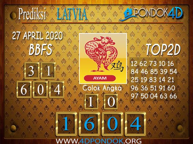 Prediksi Togel LATVIA POOLS PONDOK4D 27 APRIL 2020