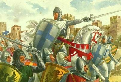 Afonso Henriques em combate
