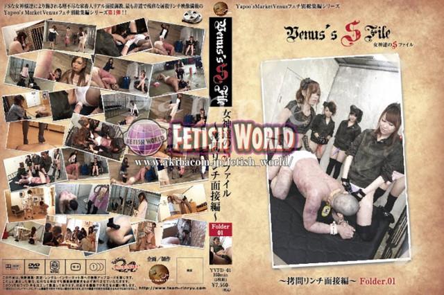 YVFD-01 Venus' SFile 女神達のSファイル〜拷問リンチ面接編 Folder.01