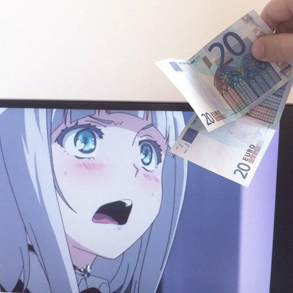 Tem Na Web - Waifus like MONEY