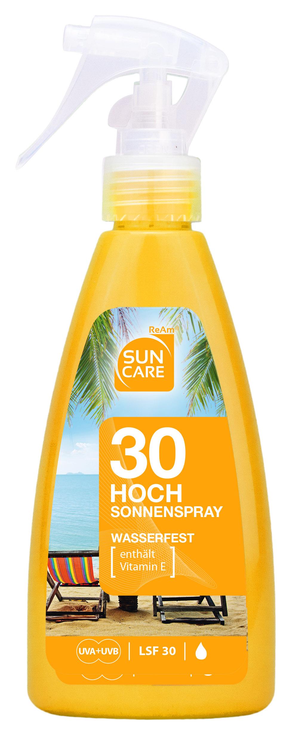 რეამ მზის/დამც. 1323 სპრეი/რძე გასარუჯი SPF-30 200მლ *