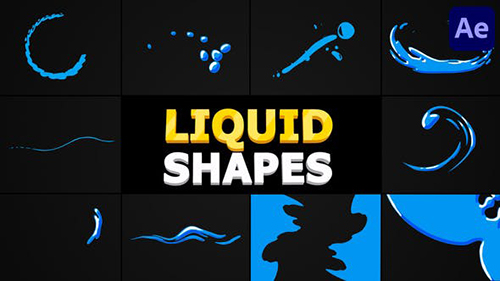 Liquid Shapes | After Effects 32853338 - Project & Script (Videohive)