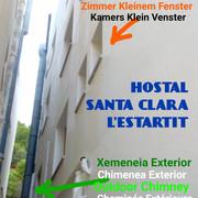 Hostal-Santa-Clara-Estartit-Restaurante