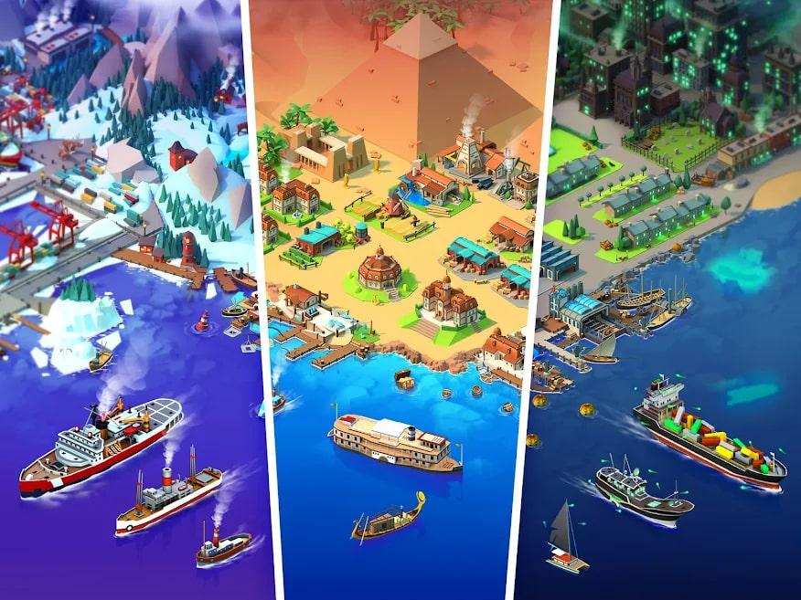 Sea Port: Ship Games 6