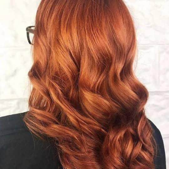 Dark Strawberry Blonde-strawberry-styled-hair