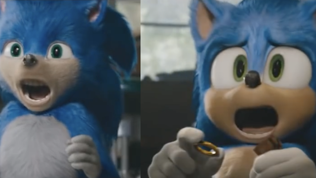 New Video For The Sonic The Hedgehog Movie Compares Sonic S Old Design With The New One
