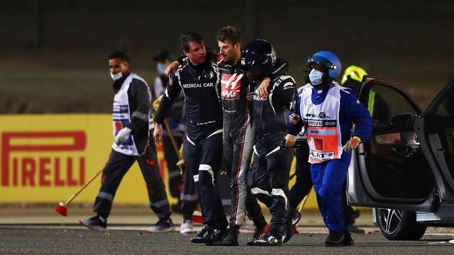 F1 GP de Bahreïn 2020 : Victoire  Lewis Hamilton  Grosjean-Haas-5