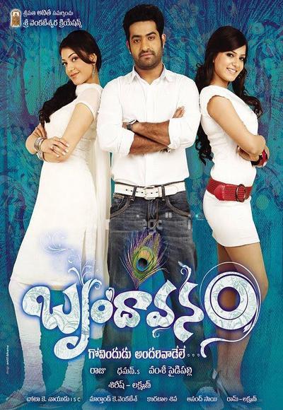 The Super Khiladi – Brindavanam (2010) Full Movie Hindi Dubbed 720p WEBRip Download