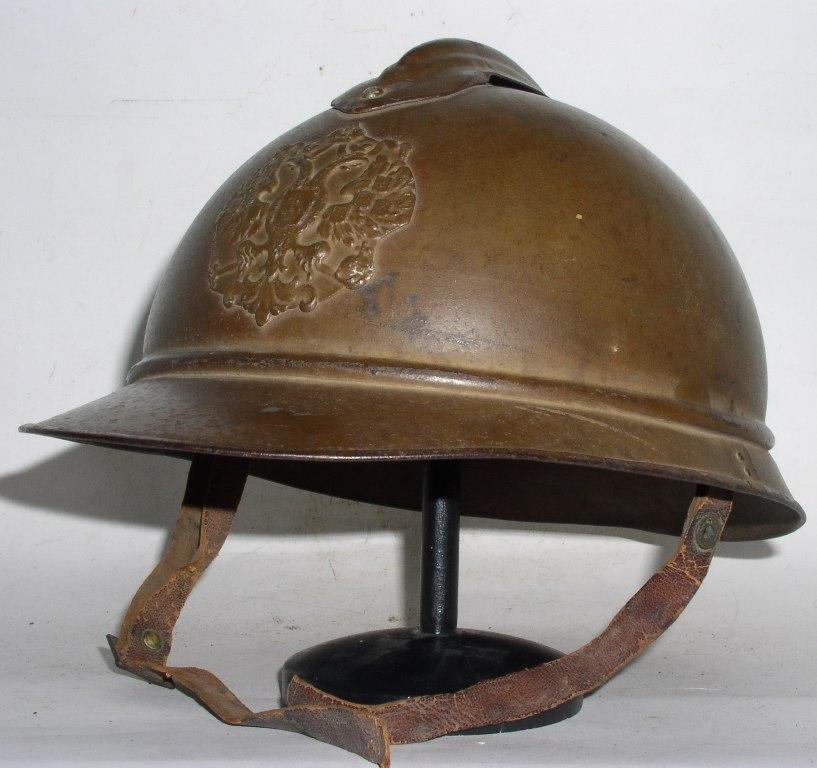 Adrian's helmet