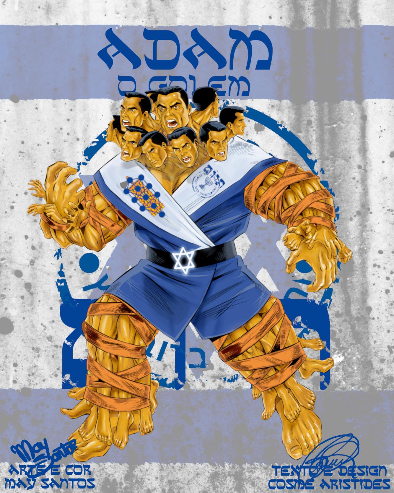 Golem-Mossad-Capa