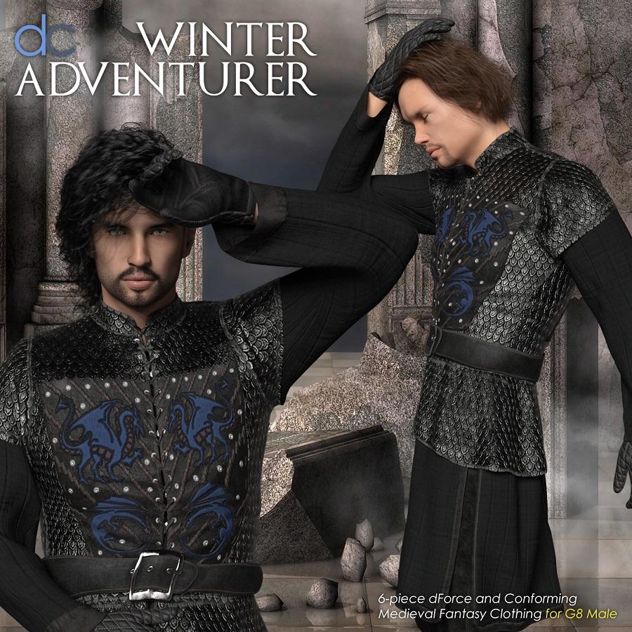 DC-Winter Adventurer for Genesis 8 Male