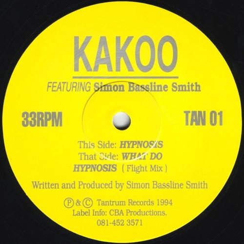 Kakoo feat. Simon Bassline Smith - Hypnosis 1994