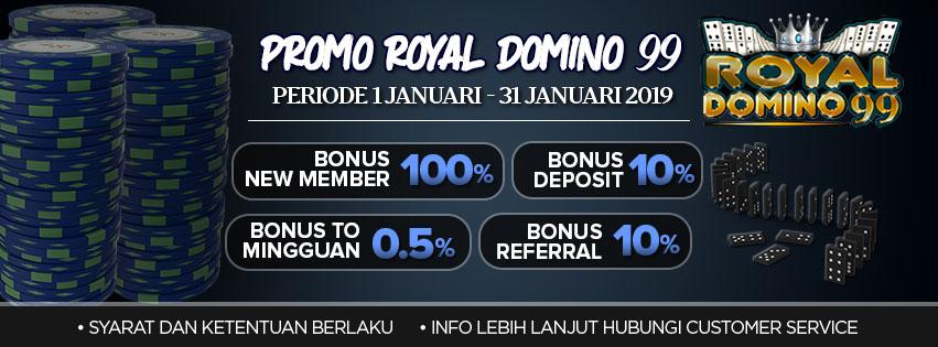 Promo Royaldomino99