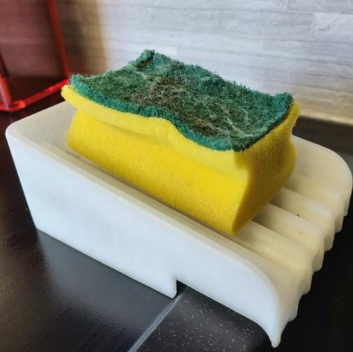 Sponge Holder For Modern Sink - Cool Things to 3D Print