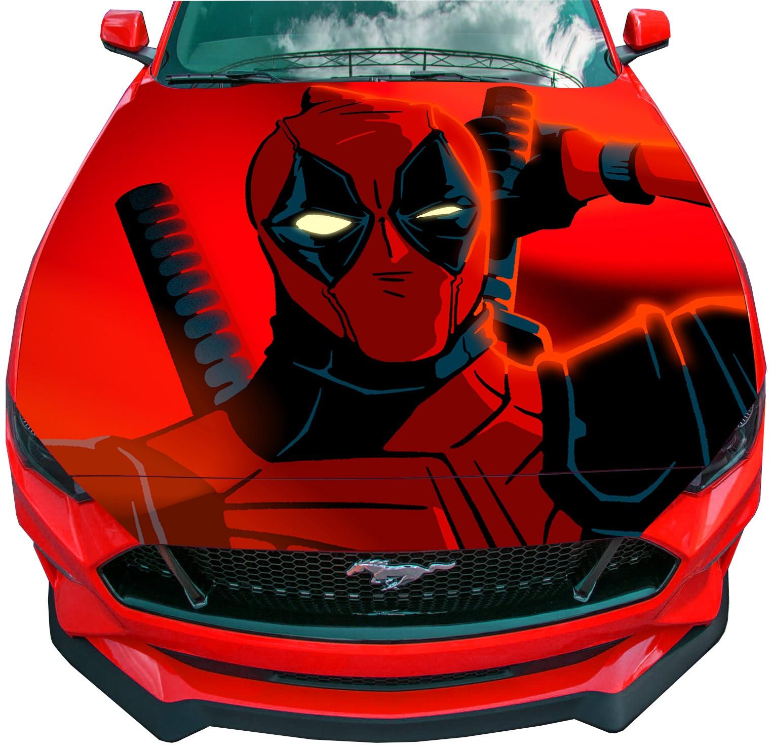 Deadpool car  vinyl decal sticker