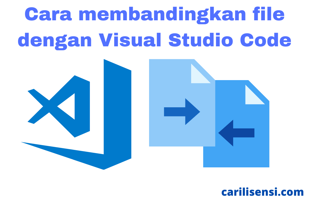 membandingkan file dengan visual studio co