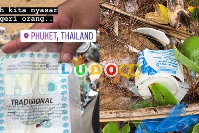 Miris, Sampah dari Indonesia Hanyut Hingga Phuket, Thailand