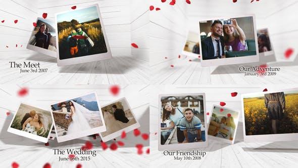 Videohive - Romantic Photo Gallery - 27017384