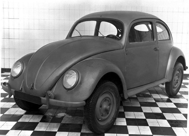 Il y a 75 ans à Wolfsburg : la production en série de la Coccinelle Volkswagen était lancée DB2020-NR00666-medium