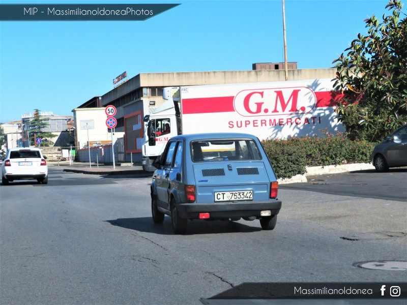 avvistamenti auto storiche - Pagina 21 Fiat-126-650-87-CT763342