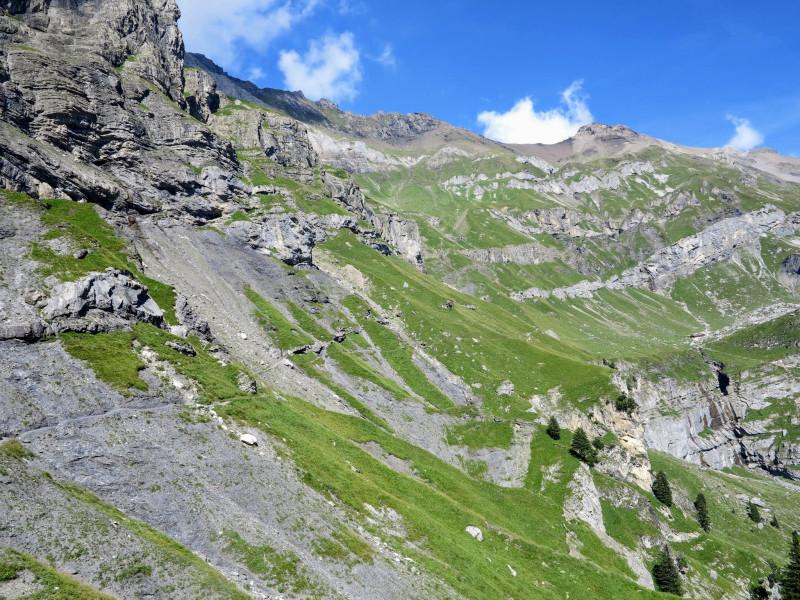 Start of descent trail