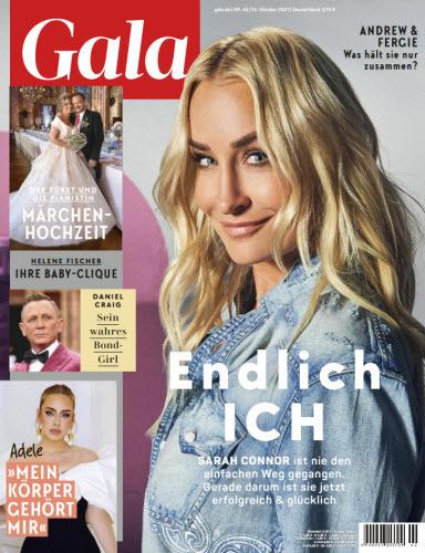 Cover: Gala Magazin No 42 vom 14  Oktober 2021