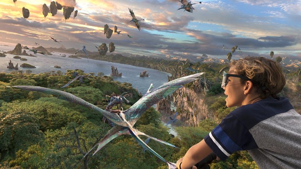 Avatar Flight of Passage at Walt Disney World