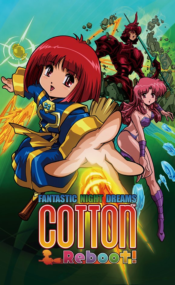 Nintendo SwitchTM遊戲『Cotton Reboot!』 延期發售通知  01-Cotton-mainvisual