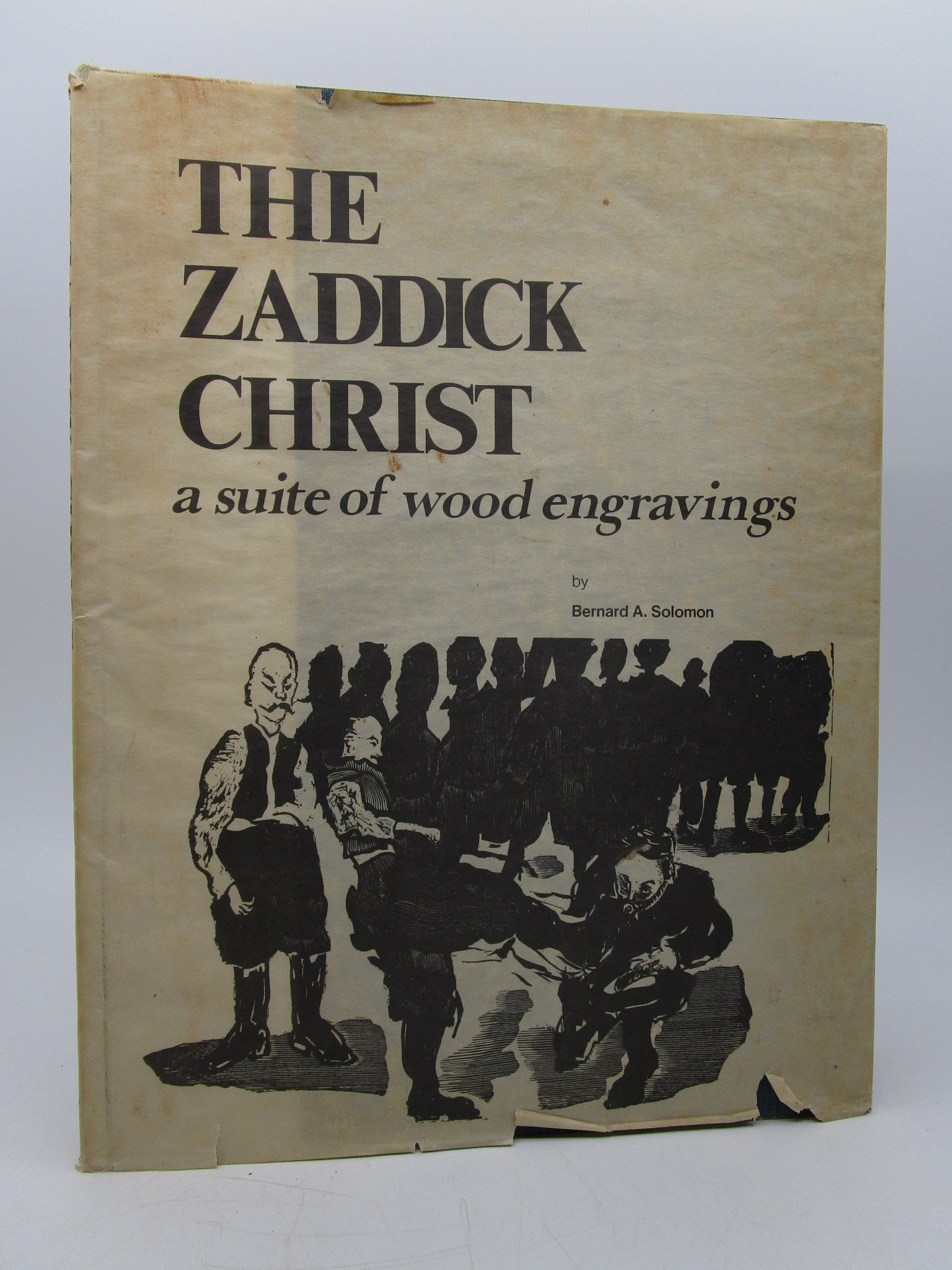 Image for The Zaddick Christ : a suite of wood engravings (Signed by author)