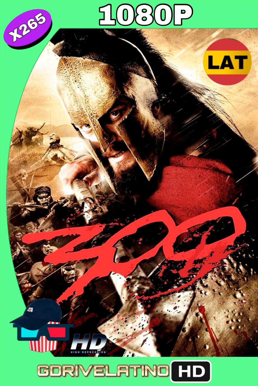 300 (2007) BDRIP 1080p x265 Latino-Ingles MKV