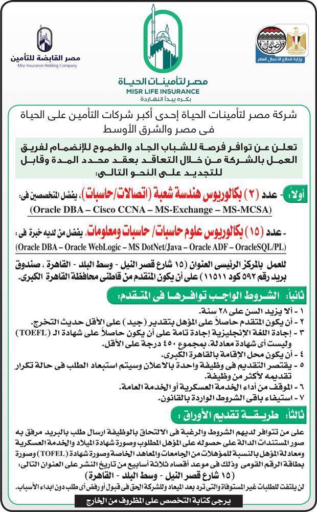 وظائف الاهرام اليوم الجمعة 5 ابريل 5 4 2019 اعلانات الأهرام مبوبة وظيفة كوم وظائف اليوم
