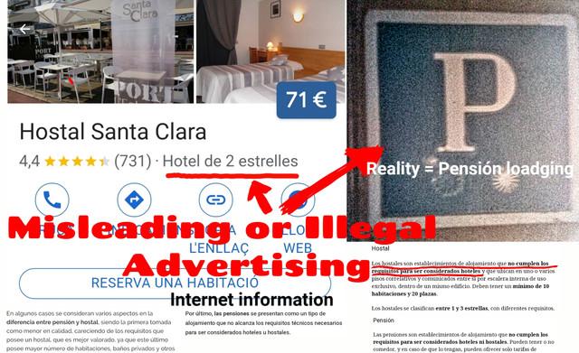 Hostal-Santa-Clara-Estartit-Advertising