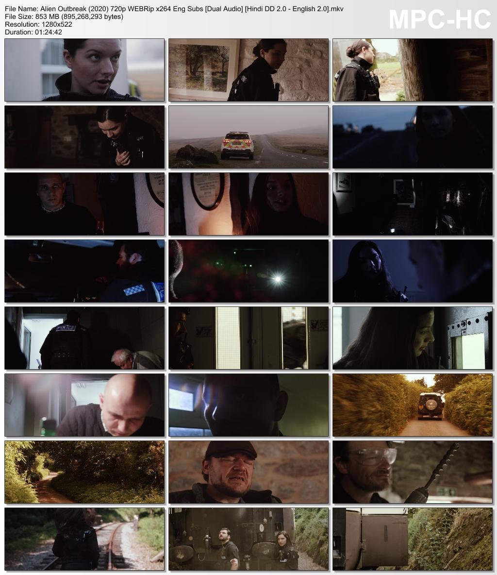 Alien Outbreak Screen Shot 2