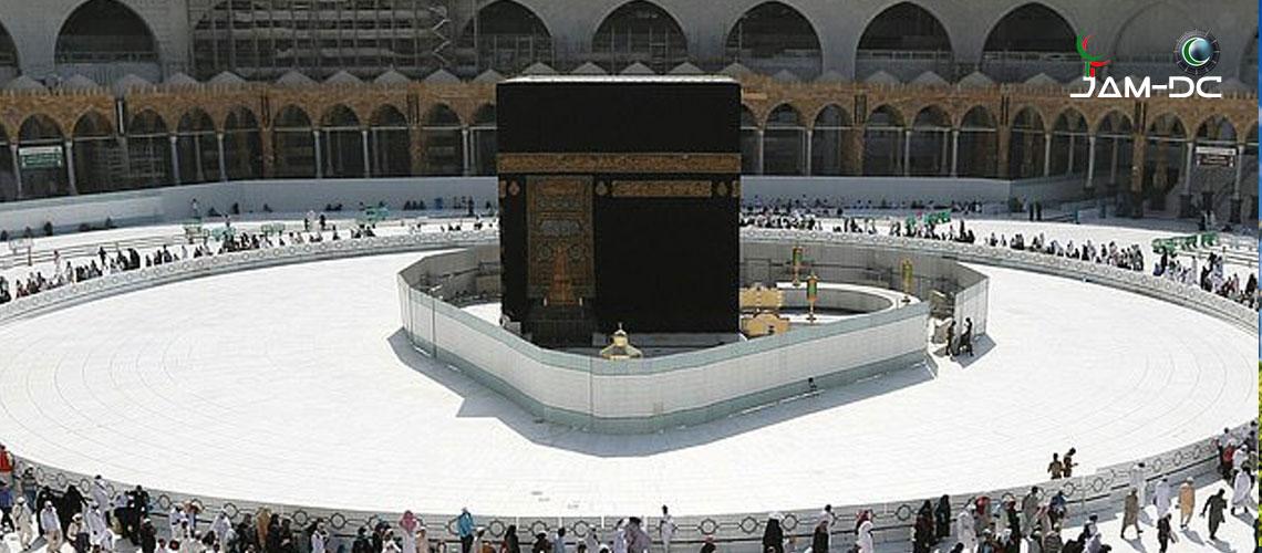 Мечеть Аль Харам стерилизуется за 35 минут