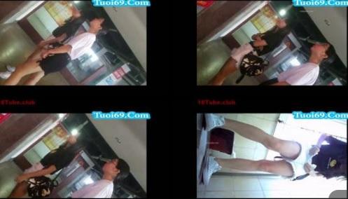 Clip: Đi chơi cùng bạn trai, Gái xinh bất ngờ bị quay lén trong toilet^^