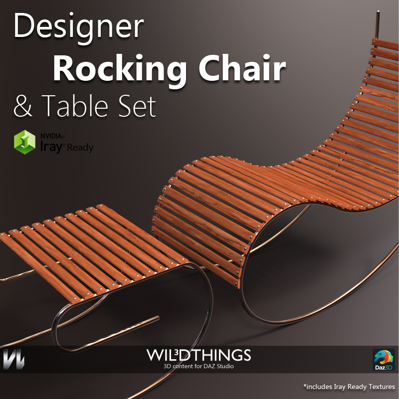 Designer Rocking Chair