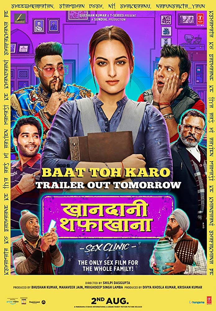 Khandaani Shafakhana (2019) Hindi Movie PreDVDRip 720p