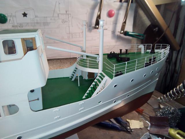 """Putnički brod """"Trogir"""" 1:62 IMG-20190911-184650"""